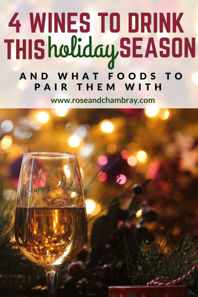 wines to drink for christmas