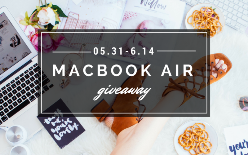 Macbook Air Giveaway!