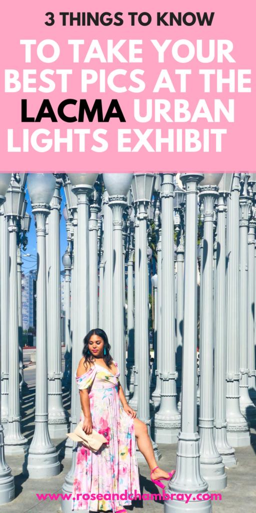 LACMA Urban Lights Exhibit Photo Taking Tips