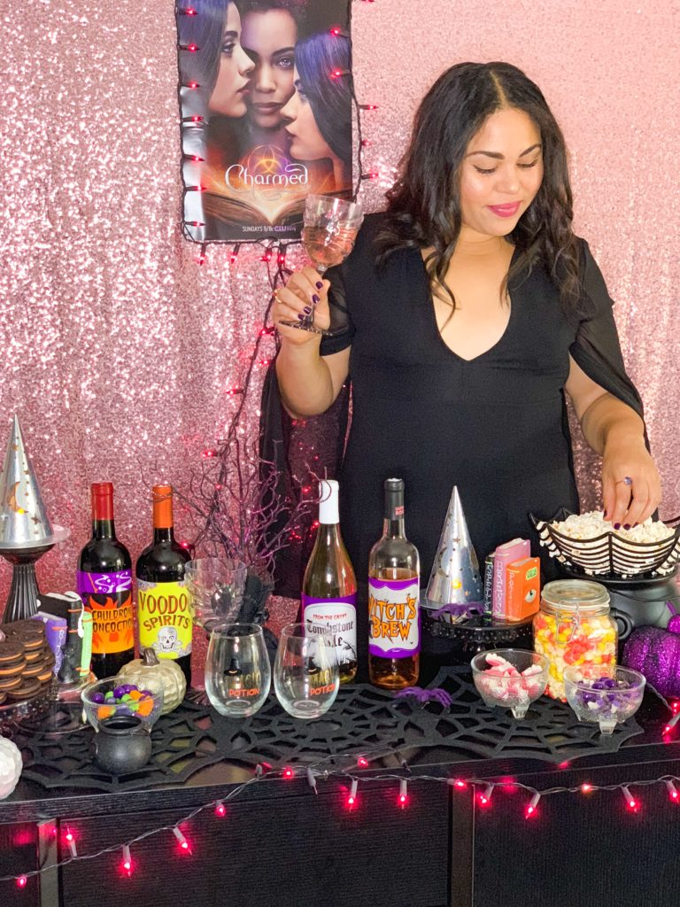 girls night in halloween party idea