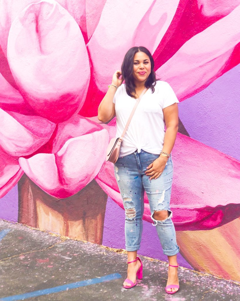 DIY Paint Splattered Jeans: Transform Your Old Jeans for $15